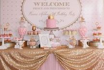 Celebrate | pink & gold party inspiration / by Haute Chocolate | Rachel Rouhana