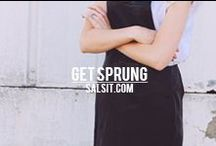 SPRING FASHION TREND INSPO / Pin your latest spring fashion inspiration & trends / by Salsit.com