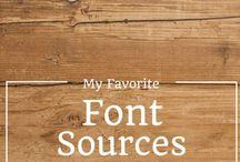 fonts for blogging / FONTS for blogging