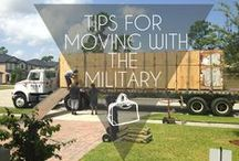 PCS Tips & Info / Ideas for dealing with a PCS move. Connect with SpouseLink on Facebook, Twitter, Google+, and Instagram for more!