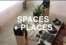 spaces + places