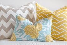 Pillows / Spruce up any piece with a gorgeous pillow!