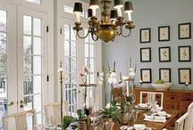 Formal Dining / Elegant formal dining design, styling and decor ideas to make your formal dining room look incredible!