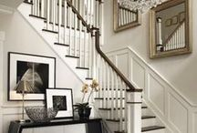 Stairs Galore / Beautiful stairs that will make you swoon!