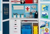 "Organization / Tips and Tricks to keep your home and office in order year round, even with kids following behind you trying to ""unorganize""!"