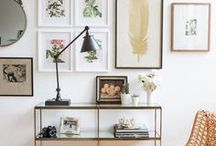 Gallery Walls / Photo Collages and other great gallery wall ideas to decorate your home.
