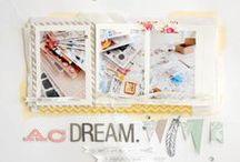 Scrapbook Goodness / by Pink Kitchen Studio