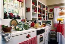charming kitchens  / by Barbara Waterbury