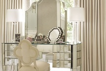 Gorgeous Vanities, Dressing Tables & Closets / The hunt for the perfect mirrored vanity and the beauties I've found along the way...
