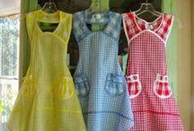 aprons / by Barbara Waterbury