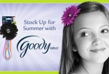 Goody Girls Rock / Softies feature self-sticking, no-clip grips, making hair style fun and easy for girls to use themselves! Designed of 100% soft and flexible material Softies are free of snaps and clips delivering a comfortable, no-fuss styling experience.