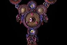 Yummy bead embroidery / by Christine Jones