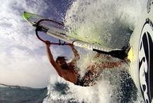 Flow & Windsurfing / Wind, Water, Waves. Add a collection of Windsurfers and this is a pretty cool board...
