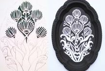 Yvonne Laube Designs / Handmade paper-cut and laser-cut adornments for you and your home.   www.yvonnelaubedesigns.com or www.etsy.com/shop/yvonnelaubedesigns