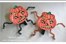 EEK! Its Halloween! / The wind may be howling, and the spooks are prowling, but these projects won't scare you at all! Lots of spooky inspiration lurks on this board! / by Vintage Street Market