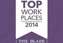 Top Workplaces 2013 / Hanson was been named a 2013 Top Workplace by the Toledo Blade! We want to thank all of our awesome employees who voted to make this happen. We pinned a few photos taken around the office that show why we're a #TopWorkplace.