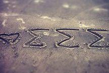 Tri Sigma! / Everything Sigma Sigma Sigma. Ever Forward. <33  / by Chelsea Skye