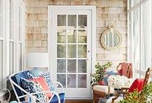 Front Porch / Ideas for decorating and designing your front porch.