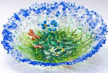 Fused Glass Ideas / by Cindy Verrill
