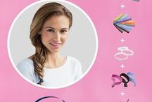 Today, I Want to Try / Trendy hairstyles created by the style experts at Goody!