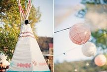 """Native Spirit"" Styled Shoot / bohemian wedding inspiration #tribal #native #feathers #arrows #teepee"