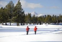 Winter is wonderful at Black Butte Ranch / Winter views and activities at Black Butte Ranch