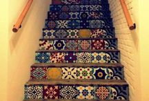 Tiles for stairs