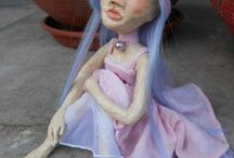 Dorka Doll Factory / Dolls dolls dolls: handmade, polimer clay, hand painted