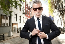Male Style Icons / Some of world's best dressed men.