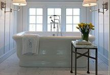 Bathroom Oasis / A place to rejuvenate and escape. Make your bathroom your personal oasis.