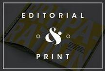 Editorial & Layouts / by Daniel Guzmán