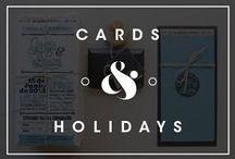 Cards & Holidays / by Daniel Guzmán