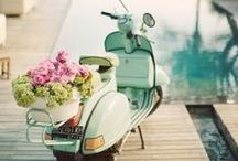 Lets Get Away... / For the creative bride looking to ride in style.