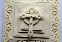CARDS-Cross / Designs can be used for Easter, baptism, sympathy, wedding, etc.   / by C R S