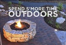 Outdoor Space / Fire pits, pools and all