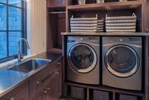 Laundry Rooms / No one likes do the laundry, but wouldn't it be better to do this necessary chore in an organized, attractive space? Here are some ideas to give you inspiration