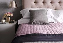 Bedroom Decor / A bedroom needs to be clean, calming, and have a bit of sparkle.