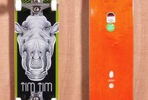 Decked Out Decks / Illustrated Skateboards