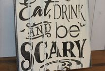 Eat, Drink, & Be Scary / Halloween Party Games, Crafts, And More