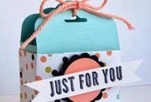 Treat & Favor  Bags & Boxes / by C R S