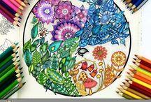 Adult Colouring-in / Art | Colouring | Colouring-in | Colour | Drawing