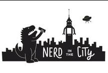 """Nerd in the City / """"Nerd: One who's unbridled passion for something,or things, defines who they are as a person, without fear of other's people's judgement."""" -Zachary Levi"""