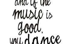 Music is my life / If music be the food of life... play on!