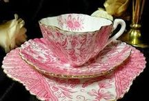 Tea and tea cups IV
