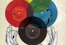 Vinyl Makes the World Go Round / Grooved plastic spinning sound maker