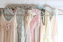 Pastel Ballet / A wisp of silk, a touch of lace, the finest things amidst this place.