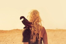 Stormborn / Forged in fire, born in strength, Mother of Dragons.