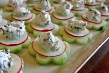 Wedding Appetizers Ideas for Linda / by Kim Mehin