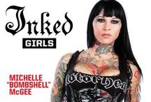 Inked Girls vol 1- issue 2 / Inked Girls vol 1- issue 2, #tattoo, #inkedgirls, #tattooedgirls, #inked / by Inked Magazine