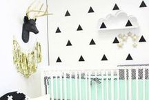 Nurseries & Kids Rooms / Fun decor for baby's nursery and your kid's room.